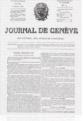 journal de geneve